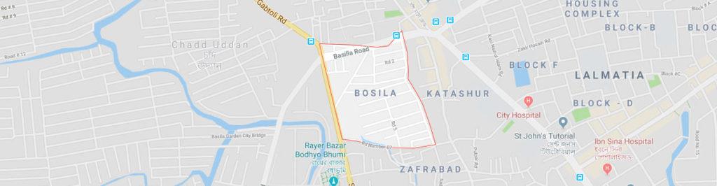 Bosila postal code