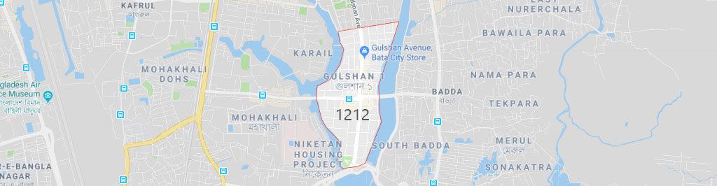 Gulshan 1 postal code