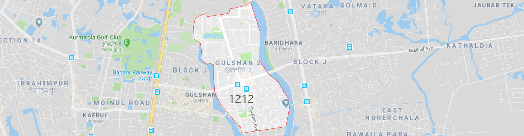 Gulshan 2 postal code