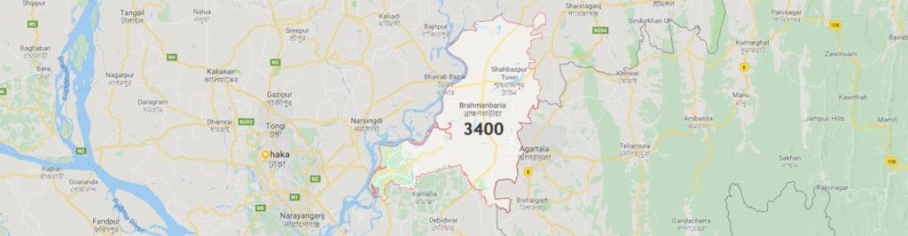 Brahmanbaria postal code