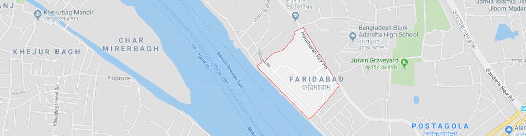 Faridabad Postal Code Dhaka