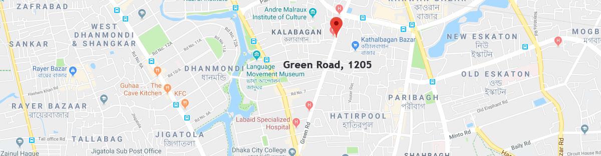 Green road postal code