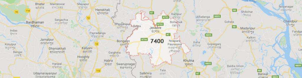 Jessore postal code
