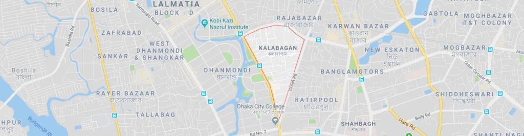 Kalabagan postal code