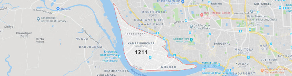 Kamrangirchar postal code