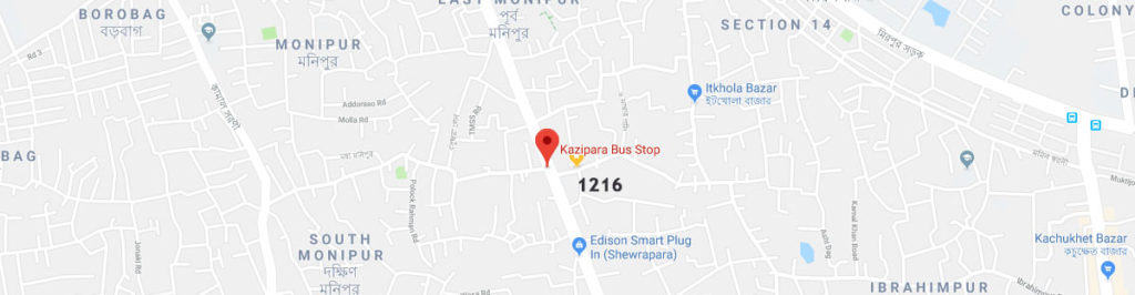 Kazipara postal code