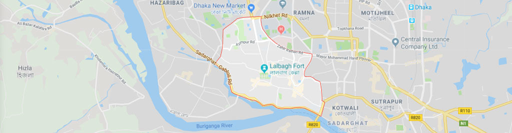 Lalbagh postal code and zip code, postal code of lalbagh