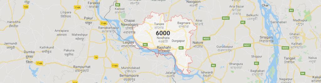 Rajshahi postal code