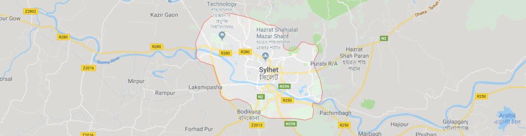 Sylhet postal code
