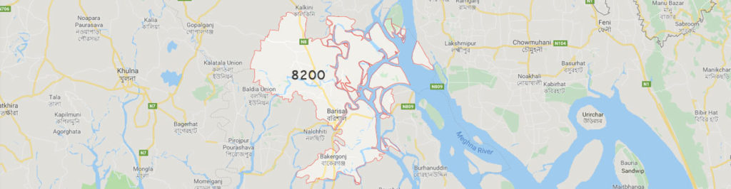 Barisal postal code