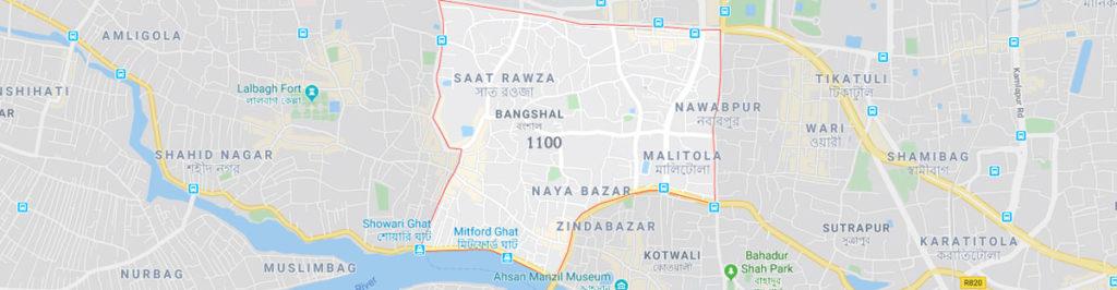 Bangshal postal code