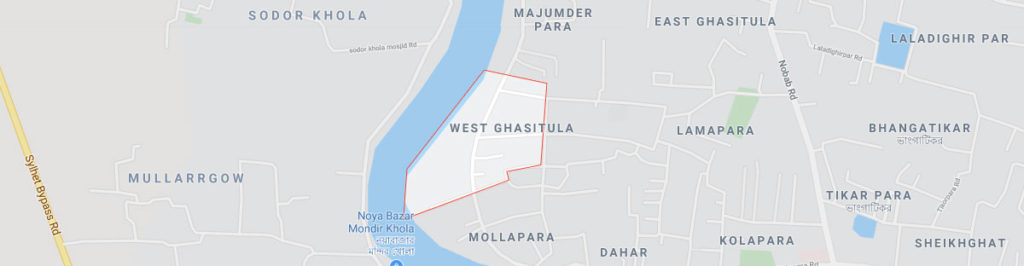 Ghasitula Postal code Sylhet
