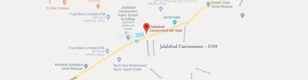 Jalalabad Cantonment Postal code