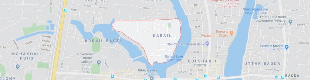 Karail postal code