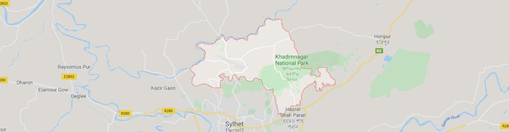 Khadimnagar Sylhet postal code