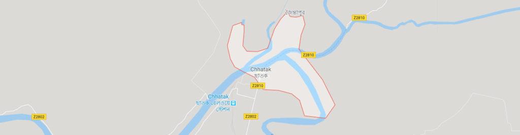 Chhatak postal code